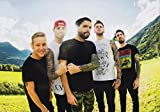 A DAY TO REMEMBER Bad Vibrations PHOTO Print POSTER Band Tour ADTR Homesick 010 A4