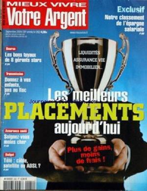 MIEUX VIVRE VOTRE ARGENT [No 282] du 01/09/2004
