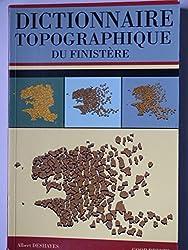 Dictionnaire topographique du Finistère