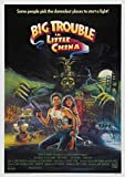Sende Big Trouble In Little China Filmplakat Wandkunst