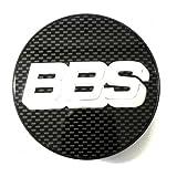 BBS Symbolscheibe silber-carbon 70,6mm Nabenabdeckung / Nabendeckel ohne Sprengring