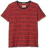 camel active Herren 1/2 Roundneck T-Shirt, Mehrfarbig (Dark Coral 44), (Herstellergröße: XX-Large)
