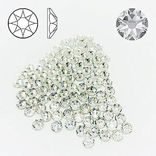 100 Stück SWAROVSKI 2088 Strass-Steine ø 5mm SS20 Fix XIRIUS Rose zum aufkleben Crystal Clear Glitzersteine Schmucksteine Bastelsteine