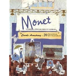 Vamos a pegar mis cuadros de Monet (MIRA Y APRENDE)