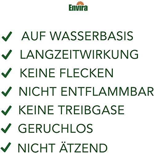 Envira Milben-Spray - Anti-Milben-Mittel Mit Langzeitwirkung - Geruchlos & Auf Wasserbasis - 2 x 500 ml + 2 Liter