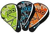 Donic-Schildkröt Tischtennis Schlägerhülle Classic, Schlägerhülle für einen Schläger, extra Ballfach für 3 Bälle, 818506