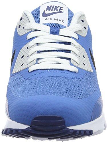 Nike Herren Air Max 90 Ultra Essential Trainingsschuhe Blau (Star Blue/Black-Celestial Blue-Pure Platinumm)