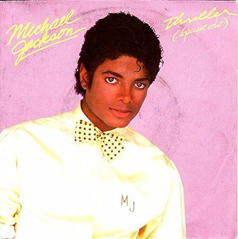 Michael Jackson Thriller Made in Netherlands for UK solid centre 45 7