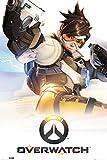 empireposter 742483 Overwatch - Key Art - Game Videospiel Poster, Papier, Bunt, 91.5 x 61 x 0.14 cm