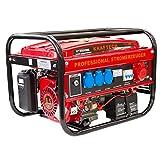 Stromerzeuger KT-8500WE Elektrostart mit 3.0 kW Dauerleistung für Gartenbereich sowie Freizeit- und Campingaktivitten.