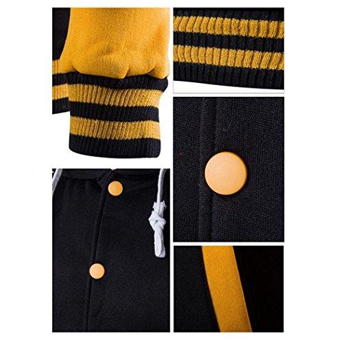 VENI MASEE Herren Fashion Style Hoodies Taschen Pullover Outdoor Sweater mit Kapuze, 8 Farben(M-XXL) Lila