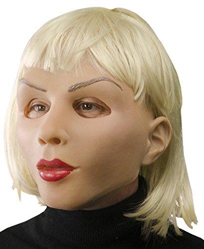 mlatex mit blonden Haaren (Echte Masken)