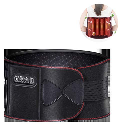 OLDHF Heizung Gürtel/Unterer Rücken Wärmetherapie Wrap/Massage Heizband, Magenschmerzen Und Verspannungen Relief Bauchschmerzen Wrap, Tragbarer Erhitzter Gurt Für Taille -