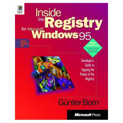 INSIDE REGISTRY FOR MICROSOFT WINDOWS 95