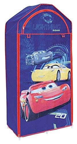 FUN HOUSE 712756 CARS Penderie pour Enfant 70 x 43 x 157 cm