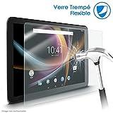 KARYLAX Protection d'écran Film en Verre Nano Flexible Dureté 9H, Ultra Fin 0,2mm et 100% Transparent pour Tablette Logicom M bot Tab 103 10.1 Pouces
