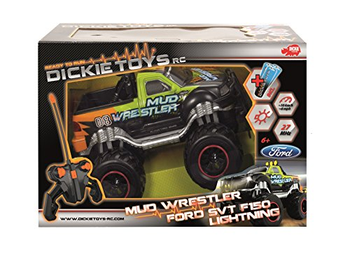 Dickie Toys 201119455 - RC Ford F150 Mud Wrestler, funkferngesteuerter Monstertruck inklusive Batterien, 30 cm - 2