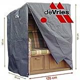 deVries CLASSIC STRANDKORB GANZJAHRESHAUBE - XL -
