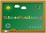 Einladungskarten zur Einschulung Schulanfang Einladungen Mädchen Jungen Schule Schuleinführung Schuleingang im günstigen Set - 10 Stück