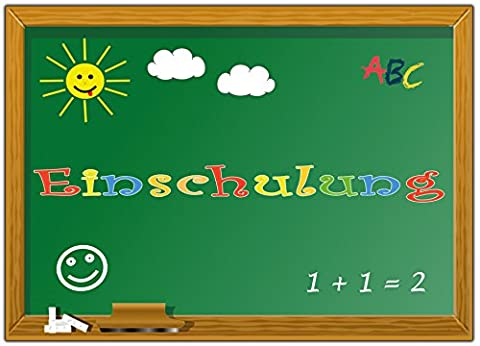 Einladungskarten zur Einschulung Schulanfang Einladungen Mädchen Jungen Schule Schuleinführung Schuleingang