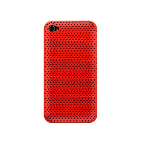 Katinkas 2108041558 Housse en polymer pour Apple iPhone 4 Rouge Rouge
