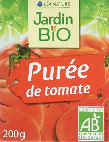 Jardin Bio Purée de Tomate 200 g - Pack de 16