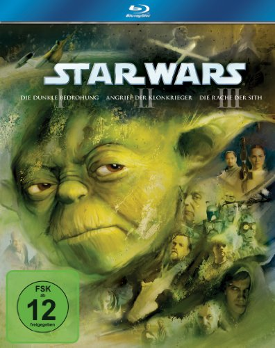 Star Wars: Trilogie I-III [Blu-ray] (Star Wars Blu-ray Set)