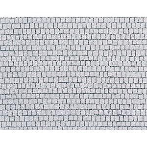 Faller 170646 - Placa de adoquines Cuadrados (480 x 350 mm) Importado de Alemania