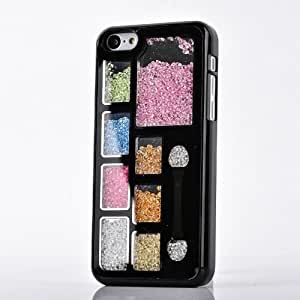 Mocase for iPhone 5C Fashion Chic Art Colorful Deluxe Bling Rhinestone Cute Chic Crystal Hard Shell Back Cover...