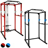 TecTake Kraftstation Fitnessstation Power Rack Power Cage