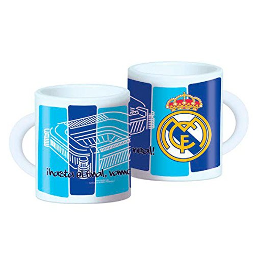 CYP Imports MG-03-RM Taza Plástico 26 Cl, Diseño Real Madrid