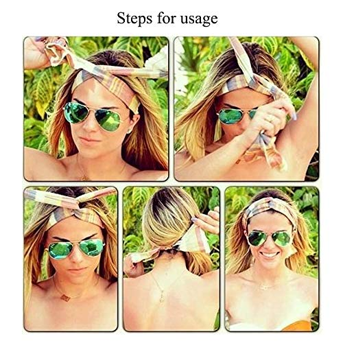 Zoom IMG-1 fogawa 8pcs fascia per capelli