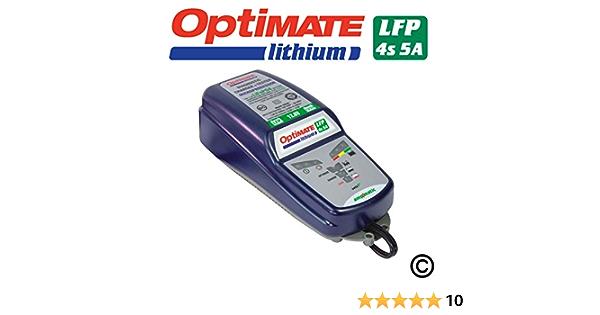 Optimate Lithium Batterieladegerät Speziell Für Lithium Ionen Akkus Von Tecmate Auto