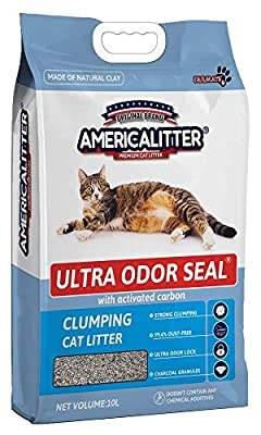 Cat Litter Clumping Odor Control Baby Powder