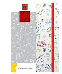 LEGO - Pasatiempos creativos - Papelería - Diario con Papel de Ladrillos