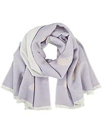 Dorothy Perkins Feather Aop Blanket, Echarpe Femme, Violet, Taille Unique 0254475ac7d