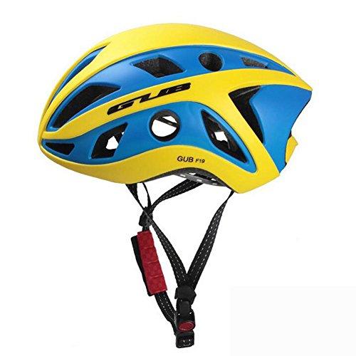 MIAO Fahrrad Helm-Outdoor Integrierte Formung Mountainbike Radfahren Sport Helme (EPS Schäumende Körper + PC Gehäuse) , yellow