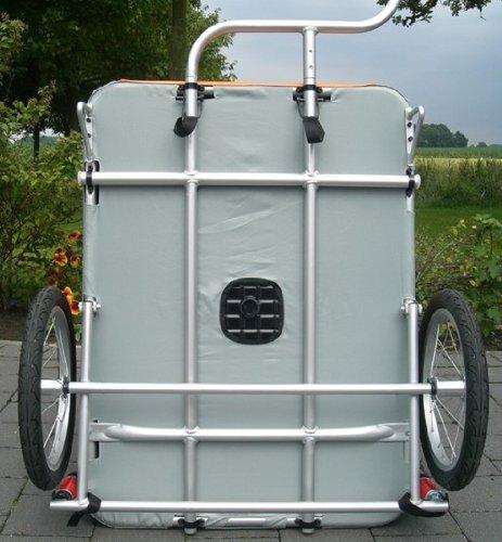 Petego Comfort Wagon L – Hunde Fahrradanhänger - 3