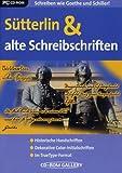 S�tterlin- und alte Schreibschriften Bild