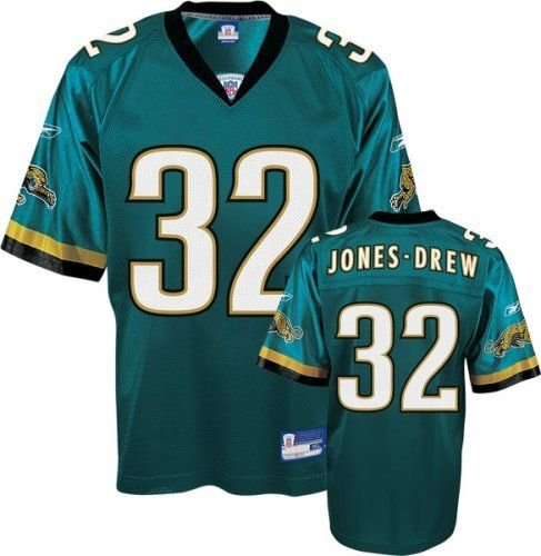 Drew Jersey (NFL Football Trikot/Jersey JACKSONVILLE JAGUARS Jones-Drew #32 teal in LARGE (L))