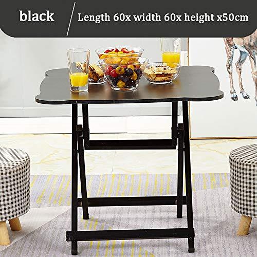 Klappbarer Haushaltstisch, Outdoor-Tisch, Kinderschreibtisch, bunt 60x60x50cm