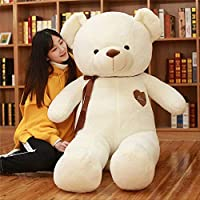 KMNHFGDB Plush Toys Love Ribbon Bear Doll Family Decoration Girls