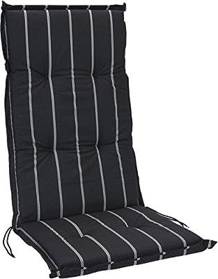 Hochlehner Stuhlauflage Gartenstuhl Hochlenerauflage 120cm x 50cm x 5cm Stuhlkissen Sitzkissen von INtrenDU bei Gartenmöbel von Du und Dein Garten