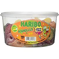 HARIBO Saure Schnuller 150 St in Runddose, 1er Pack (1 x 1.2 kg)