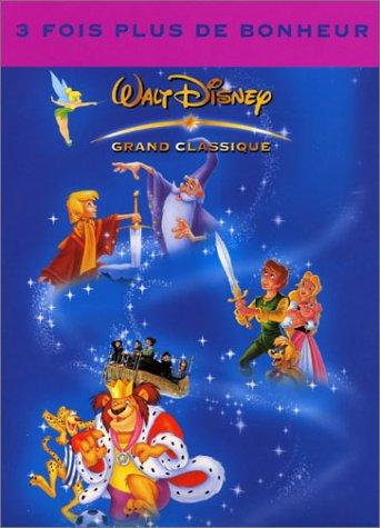 Coffret Disney 3 DVD : Merlin l'enchanteur / Taram et le chaudron magique / L'apprentie sorcière