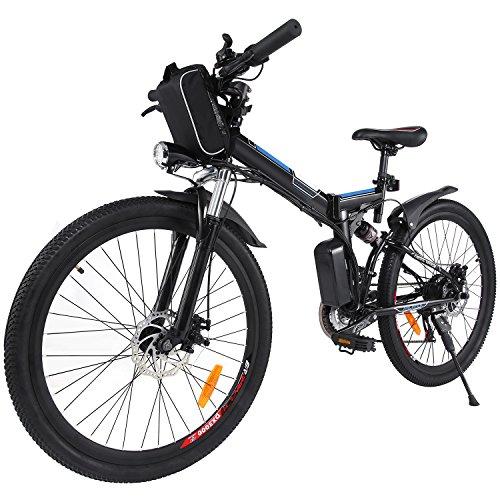 AIMADO Bicicletta Elettrica PIEGHEVOLE Mountain Bike 250 W ...