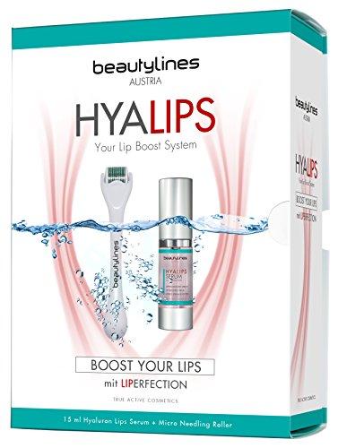 Beautylines Hyalips Boost System, perfekter Schmollmund in wenigen Minuten, volle und sinnliche Lippen ohne OP