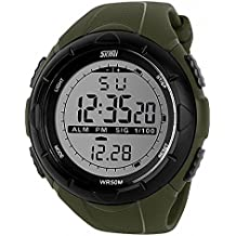 TTLIFE 1025 Quarzo Unisex Multi Function Digital LED Watch Water Resistant elettronici Orologi sportivi