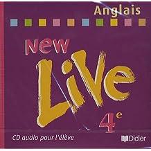 New live quatrième 2002 CD eleve Anglais