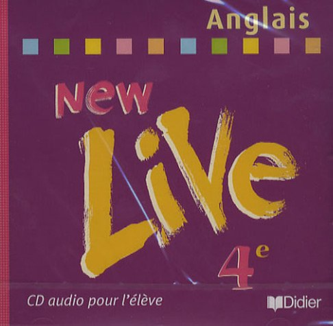 New live quatrième 2002 CD eleve Anglais par Cocher